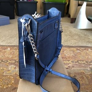 Michael Kors Denim Hamilton Handbag, NWT